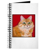 "Orange Cat ""Pumpkin"" Journal"
