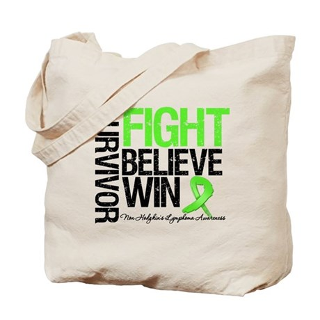 NonHodgkinsFightWin Tote Bag