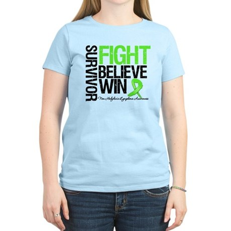 NonHodgkinsFightWin Women's Light T-Shirt