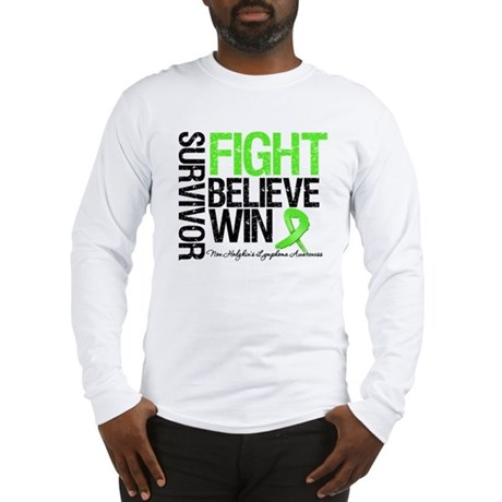 NonHodgkinsFightWin Long Sleeve T-Shirt