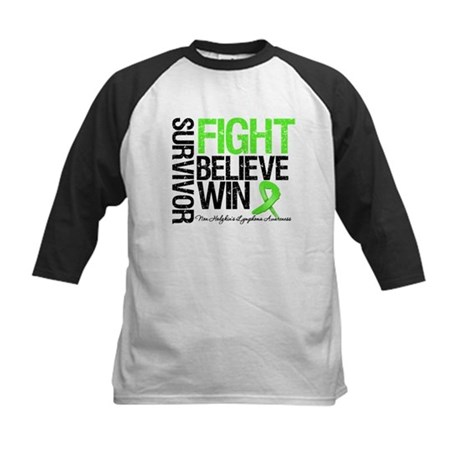 NonHodgkinsFightWin Kids Baseball Jersey