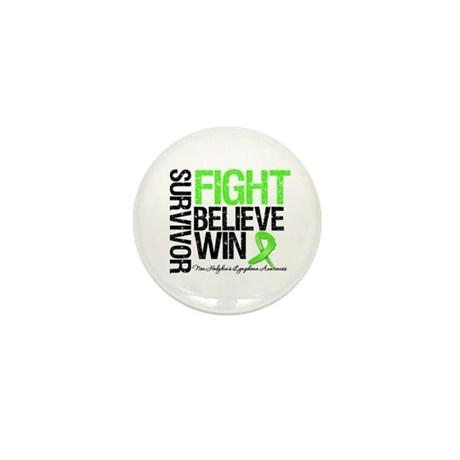 NonHodgkinsFightWin Mini Button (100 pack)
