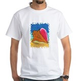 Conch Shell on Beach Shirt