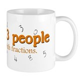 Fraction Troubles Small Mug
