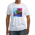 Poolside Akamathea Fitted T-Shirt