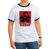 Necropolis Pirate Radio (Red) T