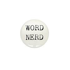 Word Nerd Mini Button (10 pack)