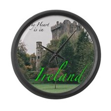 Ireland Picture Large Wall Clock