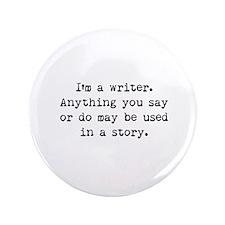 "Writer's Miranda 3.5"" Button (100 pack)"