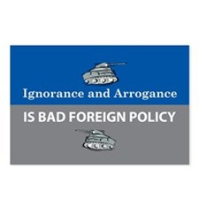 Ignorance and Arrogance Postcards (Package of 8)