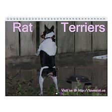 Rat Terriers Calendar