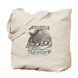 Armadillo Texas Speedbump Tote Bag