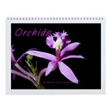 Orchid Wall Calendar