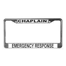 Emergency Response License Plate Frame