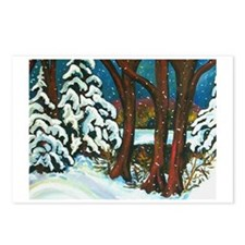 WINTER MORNING Postcards (Package of 8)