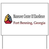 Maneuver Center of Excellence Yard Sign