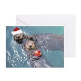 otter Greeting Cards (Pk of 20)
