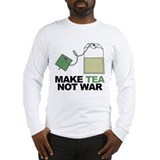 Make Tea Not War Long Sleeve T-Shirt