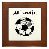 Need Soccer Framed Tile