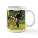 Welsh Cob Mare & Foal Horse Lover Coffee Mug