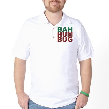 Bah Humbug Golf Shirt