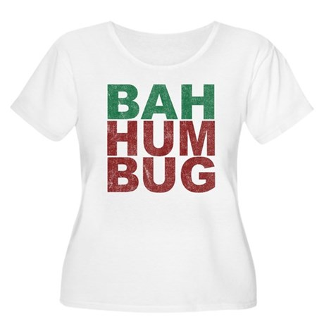 Bah Humbug Plus Size Scoop Neck Shirt