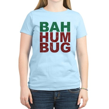 Bah Humbug Womens Light T-Shirt