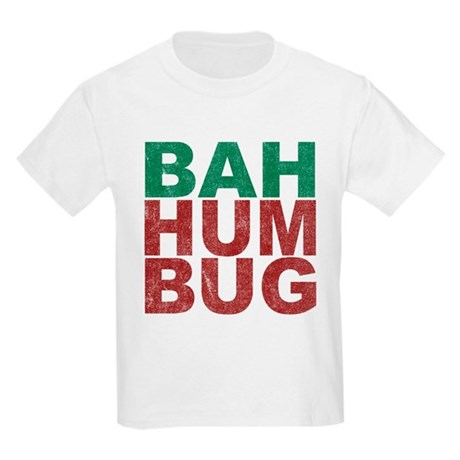 Bah Humbug Kids Light T-Shirt