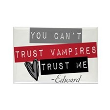 Unique Vampires heart me Rectangle Magnet (10 pack)