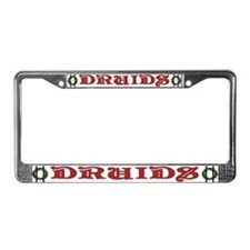 Druids License Plate Frame