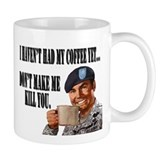 Army No Coffee Yet Small Mug