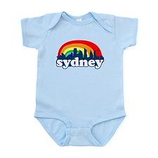 Sydney Rainbow Skyline Infant Bodysuit