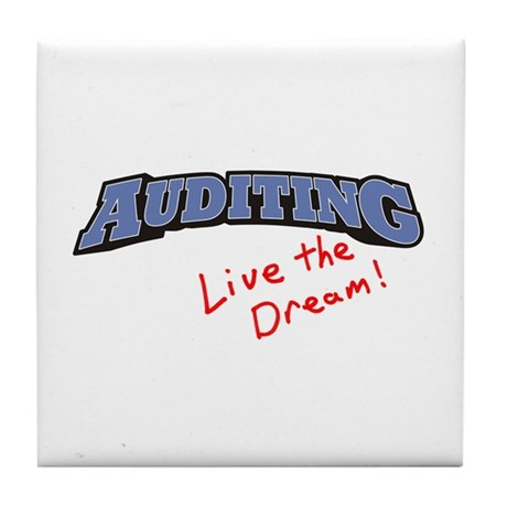 Auditing - LTD Tile Coaster