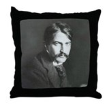 Stephen Crane Throw Pillow