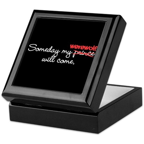 Someday My Werewolf Keepsake Box