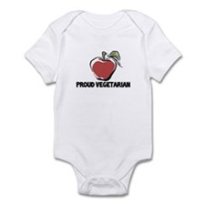Proud Vegetarian Infant Bodysuit