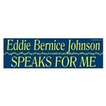 Eddie Bernice Johnson Speaks For Me sticker