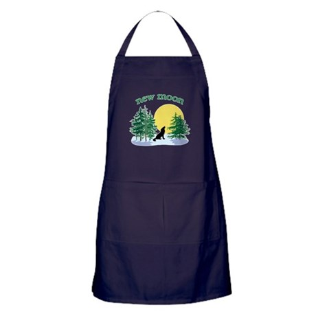 New Moon Howl Apron (dark)