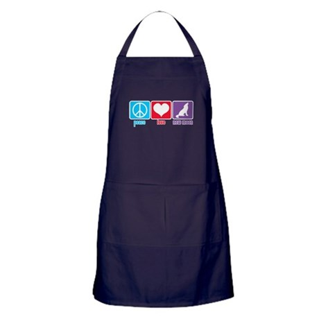 Peace Love New Moon Apron (dark)