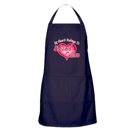 Edward Cullen Heart Apron (dark)