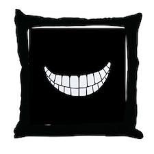 Grin II Throw Pillow
