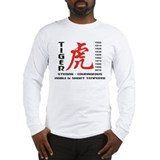 Chinese Zodiac Year of The Tiger Long Sleeve T-Shi