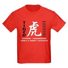 Chinese Zodiac Year of The Tiger T