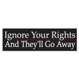 Ignore Your Rights - Stickers