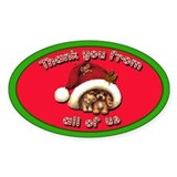Cute Christmas Tipjar Sticker Kittens! Puppies!