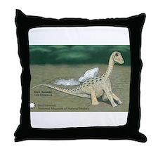 Giant Titanosaur Throw Pillow
