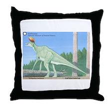 Lambeosaurus Throw Pillow