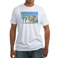 TrexTriceratops Fitted T-Shirt
