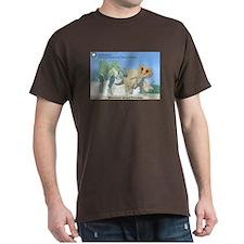 TrexTriceratops Dark T-Shirt