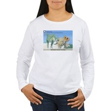 TrexTriceratops Women's Long Sleeve T-Shirt